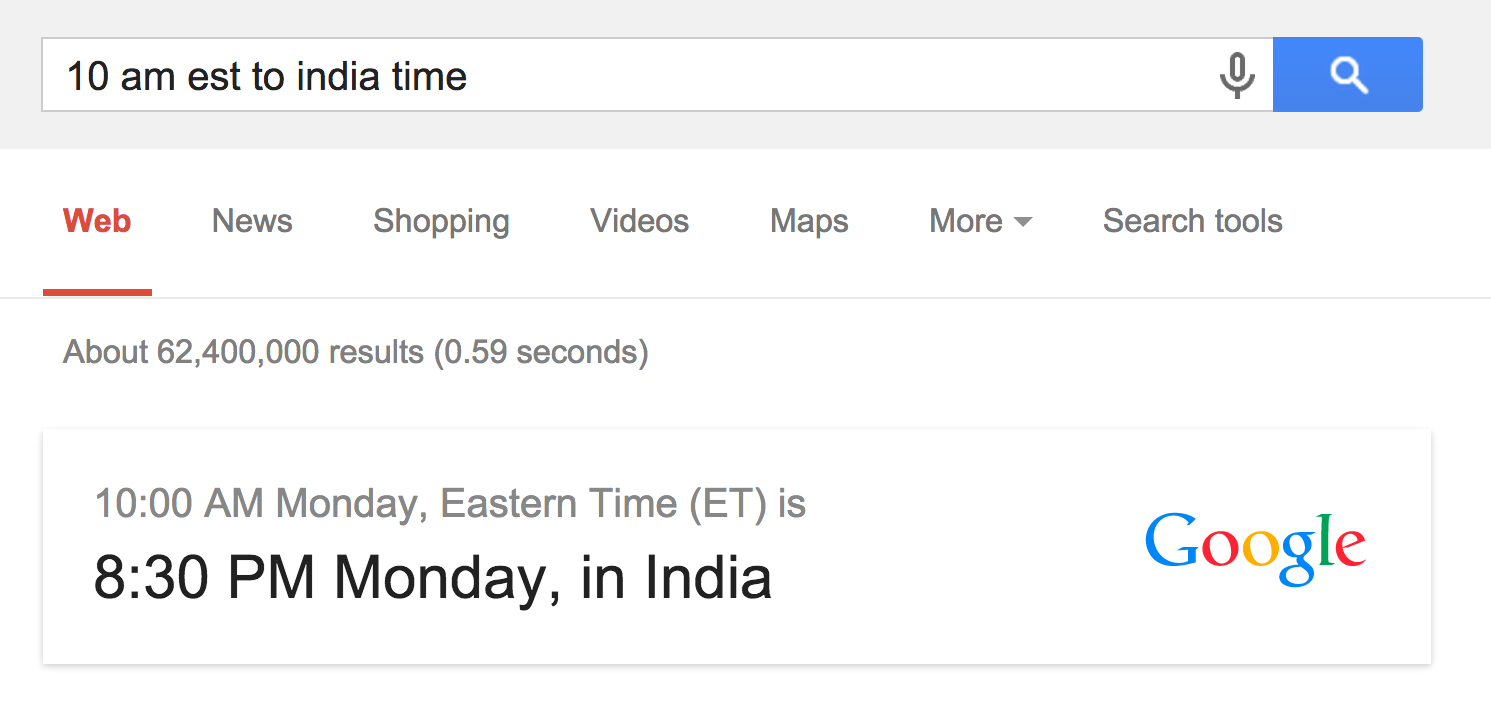 google-time-conversion